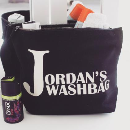 Bags - Personalised Washbag 2