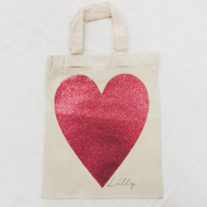 Bags - Mini Tote Heart